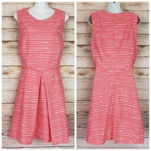 GAP Peach Sleeveless A Line Dress